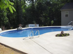 Gunite Swimming Pools in Greenville, South Carolina